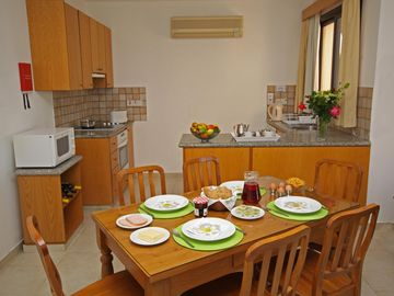 Dining Area cyprus villas for rent