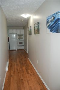 Hallway leading to bedroom