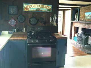 Block Island house photo - partial kitchen view