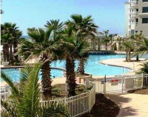 Perdido Key condo photo - Heated spa, zero entry area, gazebo, ...and the VIEW!