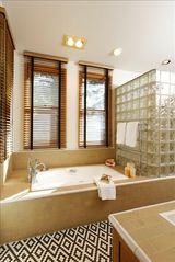 Aspen house photo - Master bathroom with luxurious bathtub