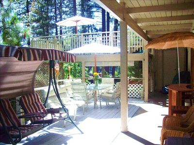Stateline house rental - Front Deck