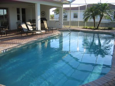 heated communal pool