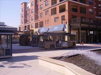 Take A Trolley Ride Around Branson Landing