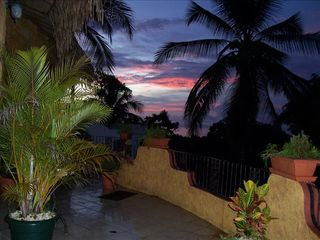 Jaco villa photo - Amazing sunsets every night!