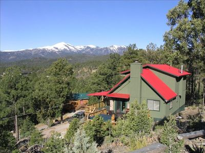 Ruidoso cabin rental - Valley View Cabin
