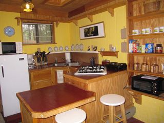 Santa Fe cabin photo - kitchenette