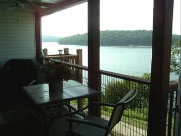 View of Lake of the Ozarks State Park from your balcony.
