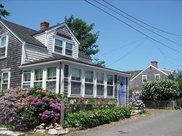 Nantucket Town house rental - Front of 'Hunky Dory'