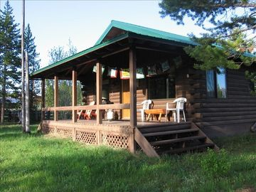 Stanley cabin rental - Enjoy your secluded getaway
