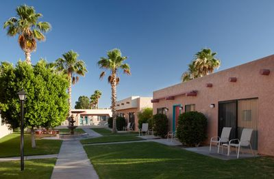 Resort Grounds at the Havasu Dunes Resort