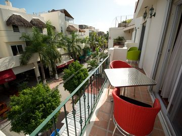 Playa del Carmen condo rental - Enjoy the view of 5th Avenue