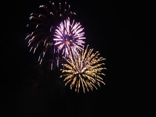 South Padre Island house photo - Fireworks over the bay! Every Friday night from Memorial day through Labor Day!