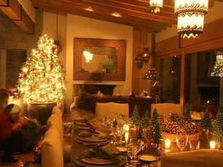 Valle de Bravo villa photo - Christmastime
