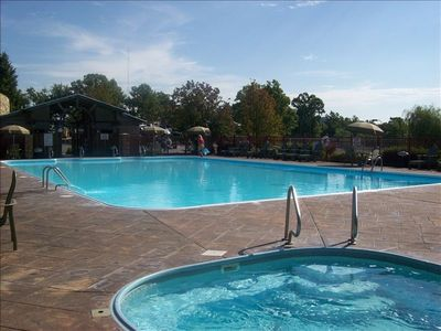 Branson property rental - Pool and Hot Tub