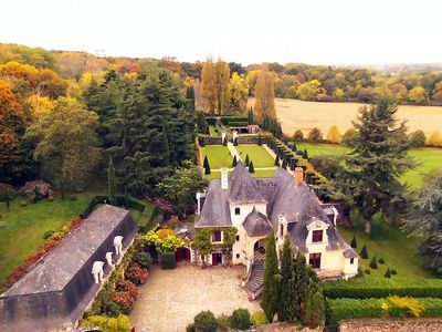 "Cottage of charm in a Renaissance manor of the banks of the Loire with pool - Cottage ""Toscane"""