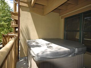 Park City condo photo - Private Hot Tub on Deck