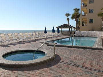 Pool and Hot tub directly on the beach. It doesn't get any better than this!