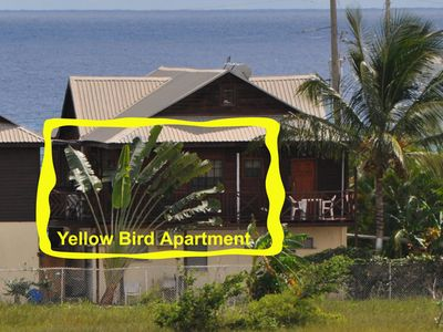 Yellow Bird Apartment - Back view