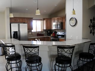 Lake Havasu City house photo - Kitchen with stainless steel appliances and granite countertops