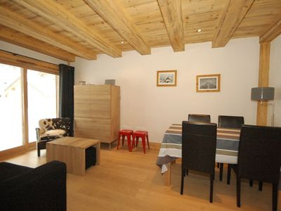 Blaitiere 2 newly built quality 2 bedroom apartment in Chamonix centre