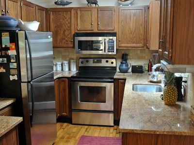 Lake Wallenpaupack cabin rental - Modernized kitchen