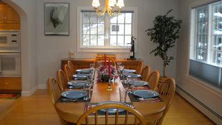 Dining room with seating for 10 - Killington house vacation rental photo