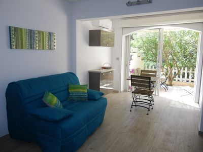 apartment 4 people, 200 m Beach of Nartelle,