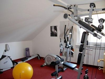 Zagreb house rental - Gym / second floor