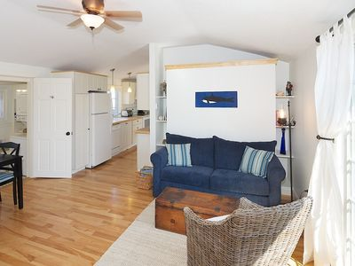 Plum Island cottage rental - Living / Dining