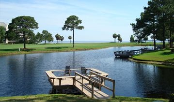 Sandestin townhome rental - Best View of the Bay and the Lake from here