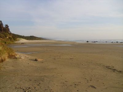 Large 5 mile long beach just south of our cove.