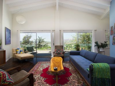 Quintessential California Great Room with gorgeous views and ample seating