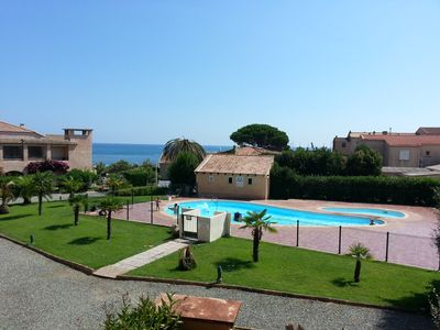 STUDIO ENTIRELY RENOVATED IN RESIDENCE WITH SWIMMING POOL 100 M FROM THE BEACH