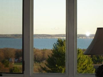 View from Living room of Little Traverse Bay/Petoskey/Bay Harbor & Charlevoix
