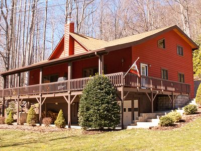 Beautiful Maggie Valley Home w/ Huge Porch!
