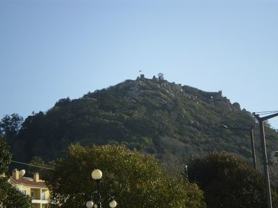 Moorish Castle above the historical centre