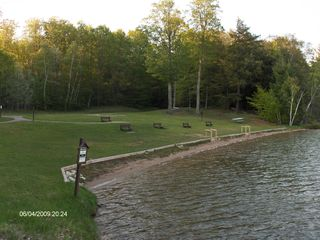 Munising chalet photo - Pete's Lake Swimming only 1/2 from Maple Ridge!