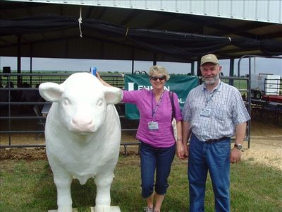 Murray & Fiona at World Charolais Cattle Convention USA 2010