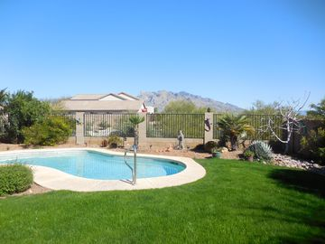 Tucson house rental - Fabulous views and refreshing pool.