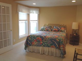 Manistee condo photo - Lower level bedroom with queen