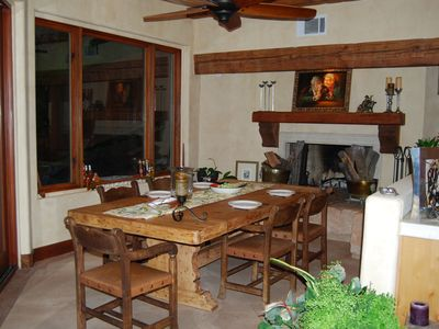 Rancho Santa Fe villa rental - Breakfast Area