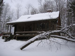 Woodstock cabin photo - Winter cabin scene