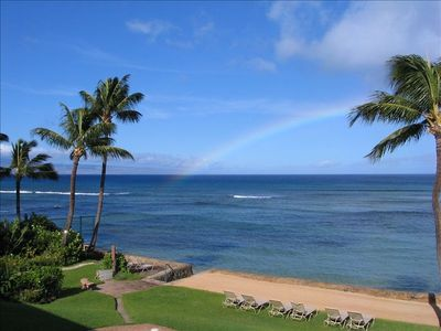Southwest of the lanai is, appropriately, the island of Lana'i.