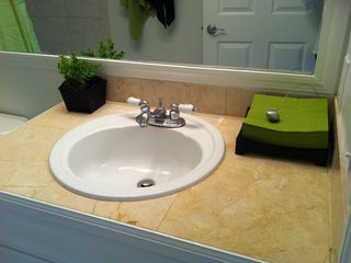 South Miami condo photo - Marble Bathroom