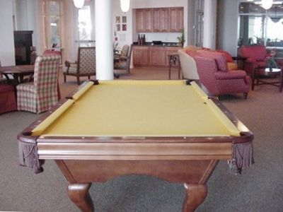 Rec Room in Lobby with Pool Table!!!