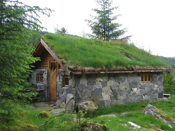 Stone Cabin - 4 man, price 500/350 kr per night