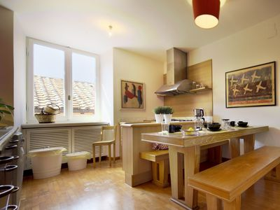 Jewish Ghetto: 200mq, Spacious 4 bedrooms 3 baths,