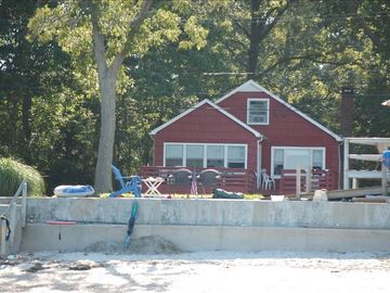 """The Red House"" is steps to the sand....."