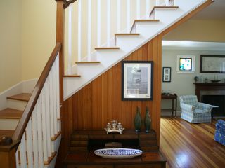 Jamestown (Conanicut Island) house photo - A two story entrance way welcomes you home.
